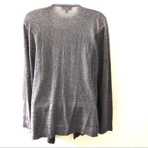 Calvin Klein Sweaters - CALVIN KLEIN OPEN FRONT DRAPED CARDIGAN.SIZE XL